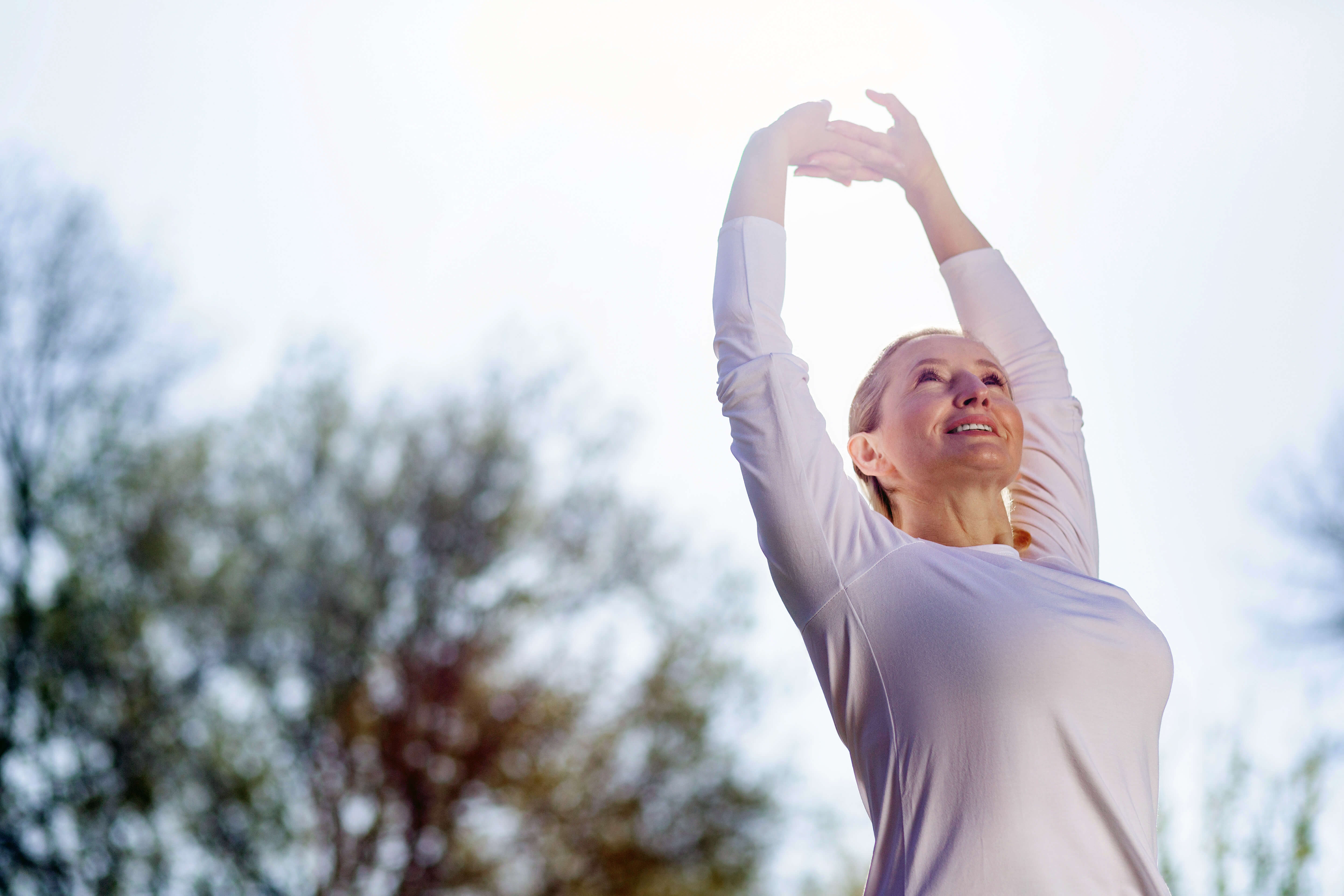 Exercising to improve physical health