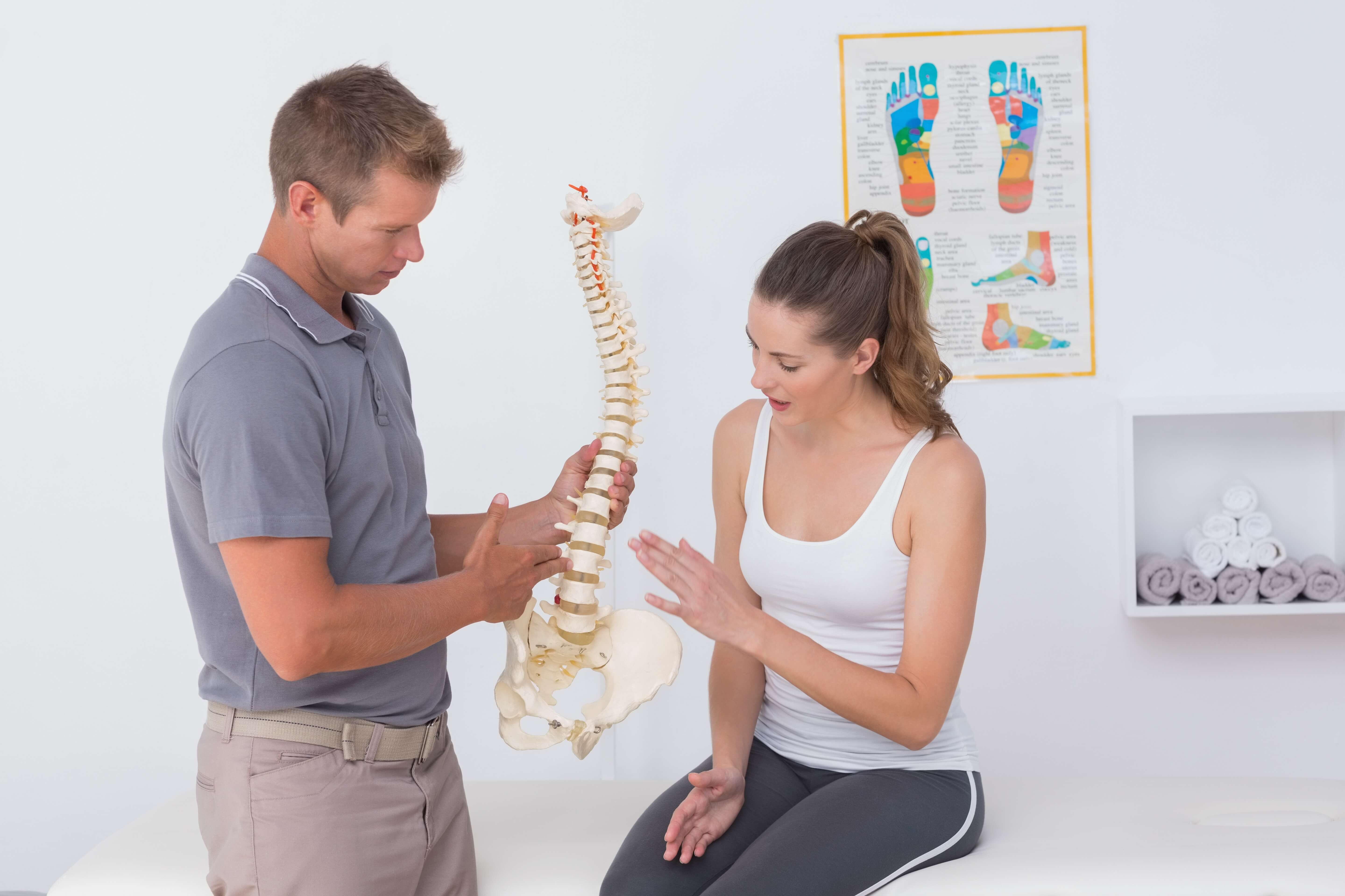 Herniated disks can cause your back pain - fix it with physical therapy